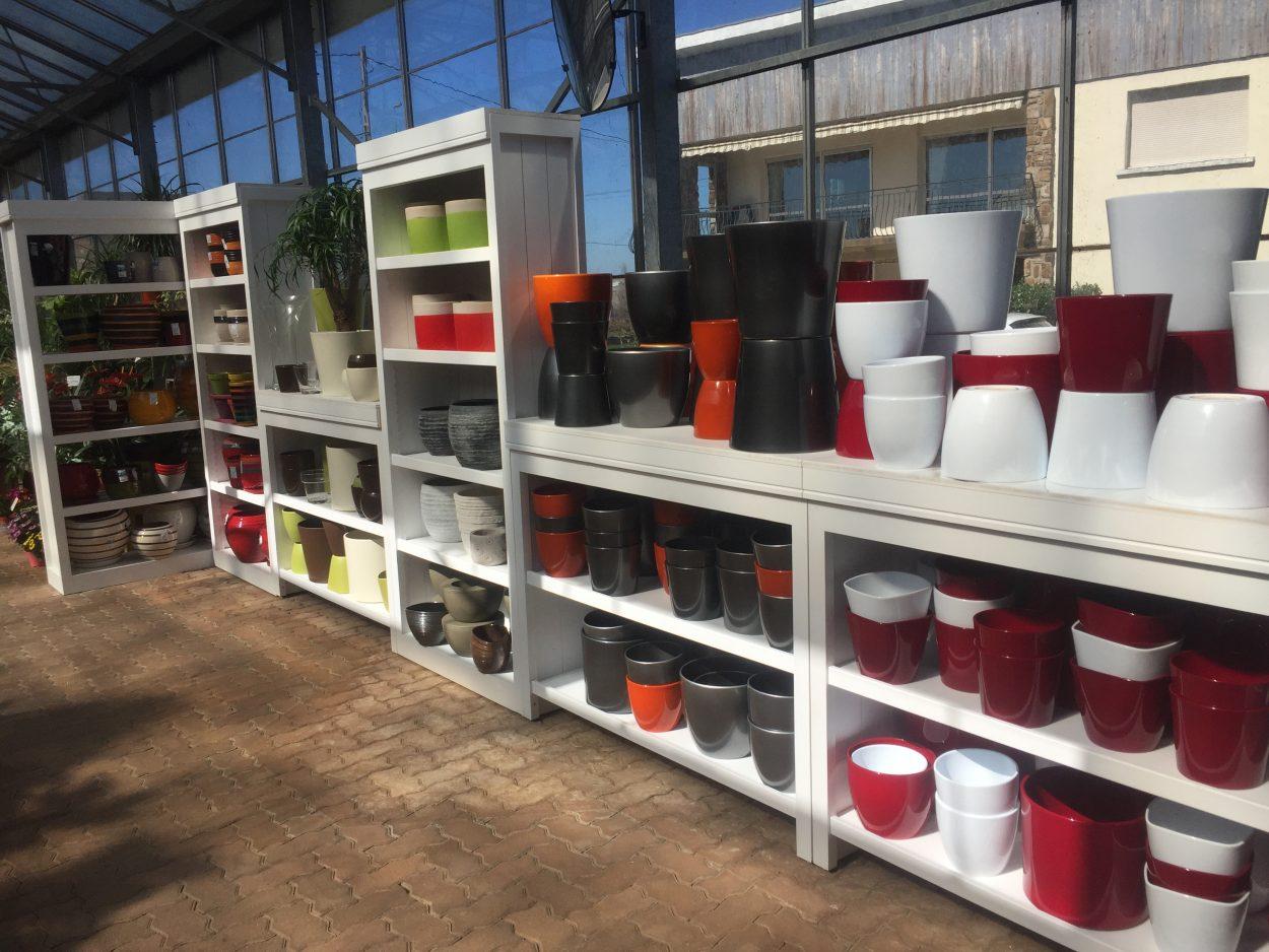 Pots, vases, pour décoration de jardin